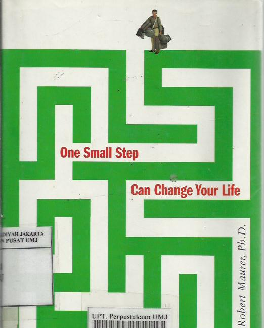 One small step can change your life :The kaizen way